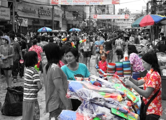 Songkran in Bangkok 7