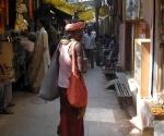 Sadhu in Varanasi's lanes
