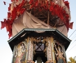 One of the temple chariots, with