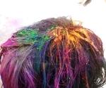 Holi hair