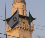 israeli-flag-and-mosques-minaret