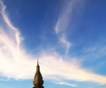 Pha That Luang at sunset