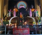 The altar at Wat Simuang