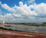 The Mekong with Dongchan Island
