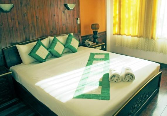 A room at Vang Thong Hotel, Luang Prabang