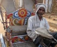 A cycle-rickshaw driver in Allahabad
