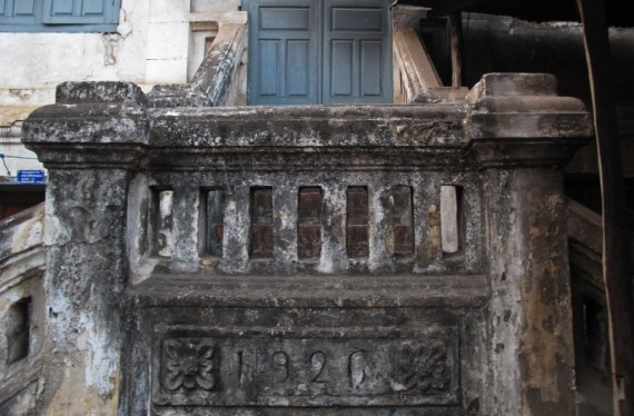 Built in 1926: Colonial architecture is steady decay