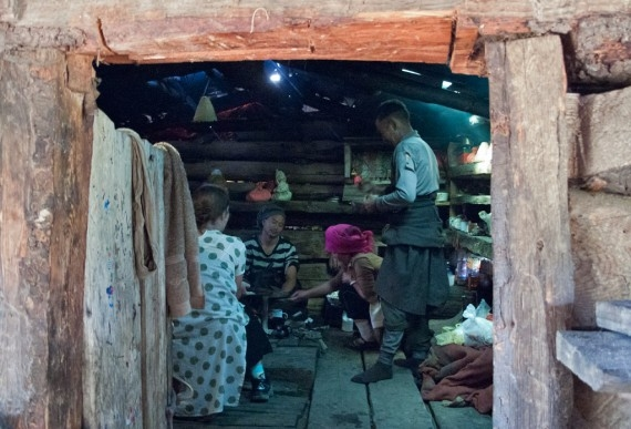 Lunch at a herder's cabin outside Shangri-La