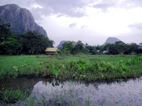 View from the Saelao Project's farm