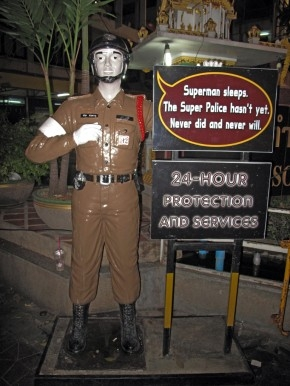 Khaosan Road's supermen: the tourist police