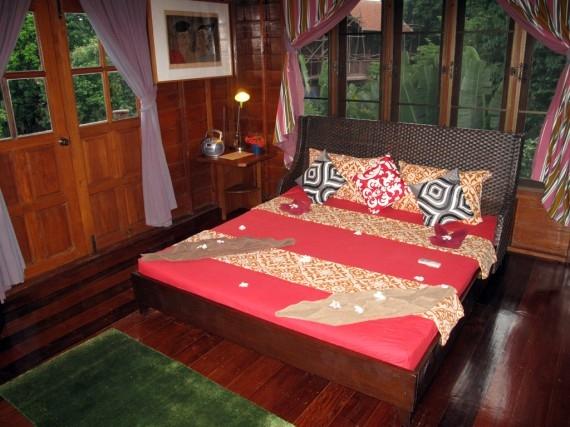 A villa room at Good Time Resort on Koh Mak